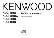 Buy Kenwood KDC-2019 Operating Guide by download Mauritron #221492