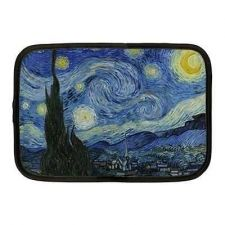 Buy Starry Starry Night Van Gogh Neoprene 10 Inch Netbook Case