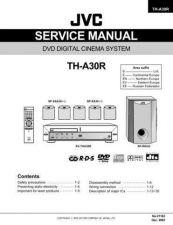 Buy JVC 21163 Service Manual by download Mauritron #255022