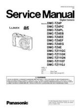 Buy Panasonic DMC-TZ3PL Service Manual with Schematics by download Mauritron #266993