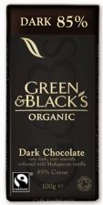 Buy Green & Black's Organic Dark Chocolate 85% Cocoa