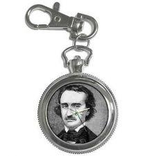 Buy Edgar Allan Poe Poet Author Key Chain Watch