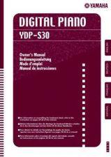 Buy Yamaha Yamaha YDPS30 EN OM A0 Service Manual by download Mauritron #259971