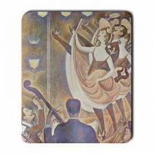 Buy Can Can Dancers Georges Seurat Cabaret Art Computer Mouse Pad
