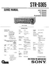 Buy Sony STR-D715-D915 Service Manual. by download Mauritron #245037