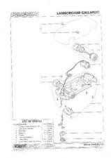 Buy Scalextrix No.413 Lamborghini Gallardo Service Sheets by download Mauritron #20