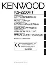 Buy Kenwood KS-2200HT Operating Guide by download Mauritron #219537
