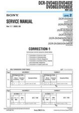 Buy Sony DVD803DVD803E[2] Service Manual by download Mauritron #240472