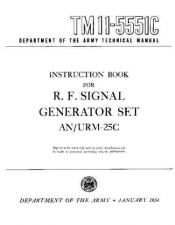 Buy MILITARY SURPLUS TM 11-5551C Technical Information by download #115481