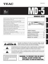 Buy Teac MD-5(5L) Service Manual by download Mauritron #223807