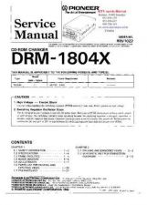 Buy PIONEER DRM1804X RRV1022 Technical Information by download #119238