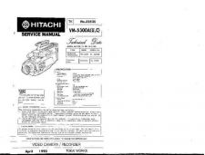 Buy Hitachi VME35A Service Manual by download Mauritron #264942