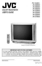 Buy JVC AV-32D202 -AR AV-32D302 -AR AV-32D502 -AR Service Manual Schematic Circuit. by do