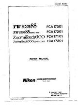 Buy NIKON Zoom Touch 600 Repair Manual by download Mauritron #266269