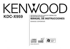 Buy Kenwood KDC-X969 Operating Guide by download Mauritron #219151