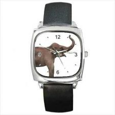 Buy Asian Elephant Pachyderm Unisex Art Wrist Watch NEW