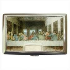Buy Last Supper Jesus Art Cigarette Money Credit Business Card Case