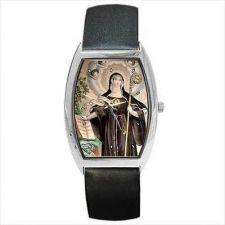 Buy Saint Gertrude Patron Saint Of Cats Wrist Watch