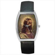 Buy Jesus Christ Portrait Barrel Unisex Wrist Watch