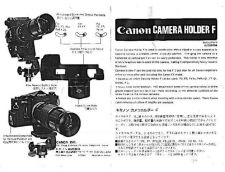 Buy CANON CAMERAHOLDERF FD CAMERA INSTRUCTIONS by download #118413