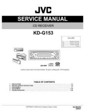Buy JVC KD-G153 Service Manual Schematic Circuit. by download Mauritron #271307