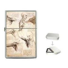 Buy Anatomy Study Leonardo Da Vinci Art Flip Top Lighter