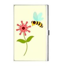 Buy Bumble Honey Bee Flower Art Business Credit Card Case