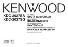 Buy Kenwood KDC-2027SG Operating Guide by download Mauritron #221510