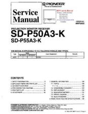 Buy PIONEER SDP50A3K SDP55A3K ARP2952 Technical Information by download #119358