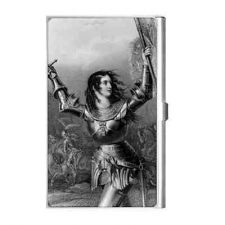 Buy Joan Of Arc Patron Saint Military Business Credit Card Holder