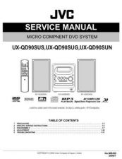 Buy JVC UX-QD90SUS by download Mauritron #272927