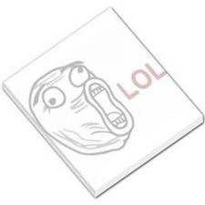 Buy LOL Guy Rage Comic 50 Sheet Mini Paper Memo Pad