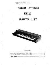 Buy Yamaha SPX2000 PCB1 C Manual by download Mauritron #259476