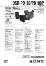 Buy Sony DV MECHANICAL ADJUSTMENT MANUAL V by download Mauritron #228801