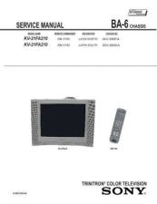Buy Sony KV-2160WR Service Manual. by download Mauritron #242218