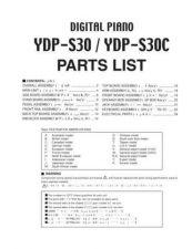Buy Yamaha YDP123 PL J Information Manual by download Mauritron #260052
