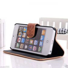 Buy NEW MAP DESIGN HIGH QUALITY FLIP STAND LEATHER CASE COVER FOR APPLE IPHONE 5