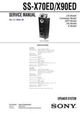 Buy Sony SS-WMSP67-WMSP67E Service Manual. by download Mauritron #244953