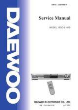 Buy Daewoo. SM_DSA-9310E_(E). Manual by download Mauritron #213296