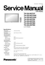 Buy Panasonic th_37_42_50px60u_sup Service Manual by download Mauritron #269128
