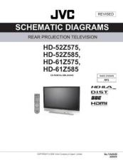 Buy JVC HD-52Z575 sch Service Manual Schematic Circuit. by download Mauritron #270931