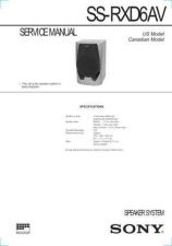 Buy Sony SS-RS150 Service Manual. by download Mauritron #244897