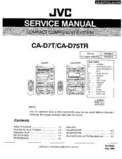 Buy JVC jvc-ca-d75tr--- Service Manual by download Mauritron #273483