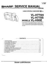 Buy Sharp VLH860H-004 Service Manual by download Mauritron #210946