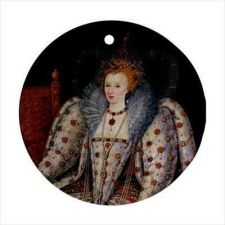 Buy Queen Elizabeth I Gheeraerts Art Ceramic Ornament