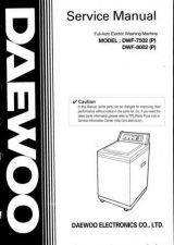 Buy Daewoo WF80020100 Manual by download Mauritron #226978