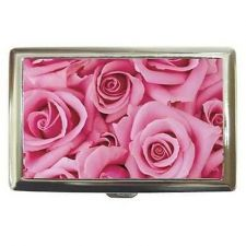Buy Pink Rose Roses Cigarette Money Credit Card Case