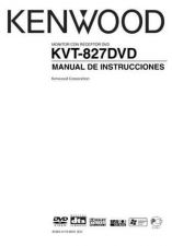 Buy Kenwood KVT-827DVD by download Mauritron #222906