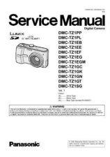 Buy Panasonic DMC-TZ5PC Service Manual by download Mauritron #267010