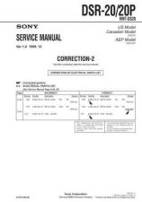 Buy Sony DSR-4040P Service Manual by download Mauritron #240413